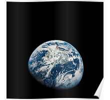 View of Earth taken from the Aollo 8 spacecraft. Poster