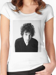 Bob Dylan 1966 Women's Fitted Scoop T-Shirt