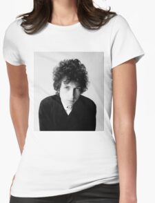 Bob Dylan 1966 Womens Fitted T-Shirt