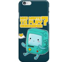 BMO adventure time - videogames iPhone Case/Skin