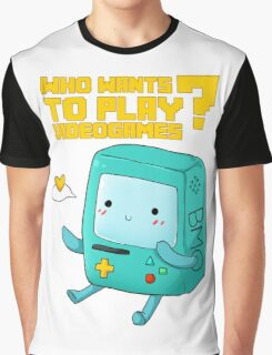 BMO adventure time - videogames Graphic T-Shirt