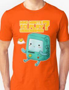 BMO adventure time - videogames Unisex T-Shirt