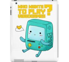 BMO adventure time - videogames iPad Case/Skin
