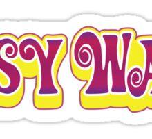 Pussy Wagon Sticker