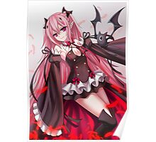 Krul Tepes - Owari no Seraph Artwork Poster