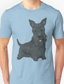 Funny Scottish Terrier Dogs T-Shirt