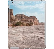 Israel, Sodom, near the southern part of the Dead Sea, Eroded rock iPad Case/Skin