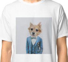 dog in tuxedo Classic T-Shirt