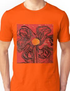 red flower power T-Shirt