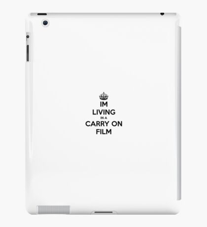 Carry On Film iPad Case/Skin