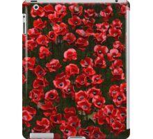 Metal Poppies iPad Case/Skin