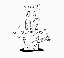The rabbit and his carrot Unisex T-Shirt