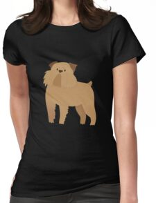 Brussels Griffon Womens Fitted T-Shirt