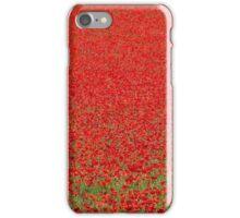 Scarlet poppies iPhone Case/Skin
