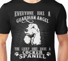 COCKER SPANIEL - GUARDIAN ANGEL Unisex T-Shirt