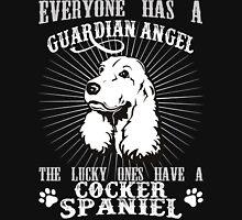 COCKER SPANIEL - GUARDIAN ANGEL Unisex T-Shirt