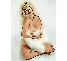 Jayne Mansfield by Frank Falcon Photographic Print