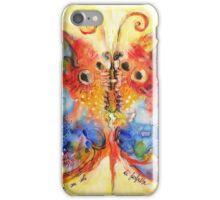 Astrazioni su ali di farfalla iPhone Case/Skin