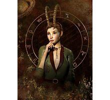 Capricorn Zodiac fantasy edition Photographic Print