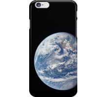 Planet Earth taken by the Apollo 11 crew. iPhone Case/Skin