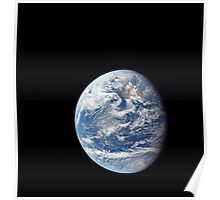 Planet Earth taken by the Apollo 11 crew. Poster