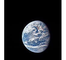 Planet Earth taken by the Apollo 11 crew. Photographic Print