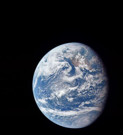 Planet Earth taken by the Apollo 11 crew. Sticker