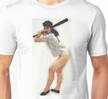 Bettie Page by Frank Falcon Unisex T-Shirt