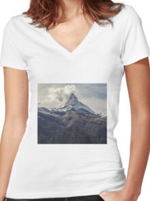 Ascend 2 Women's Fitted V-Neck T-Shirt
