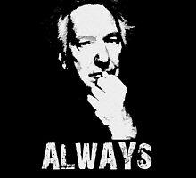 Always Alan Rickman by osoep008