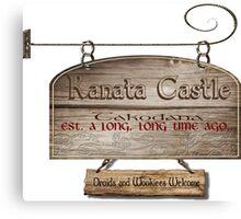 Kanata Castle Canvas Print