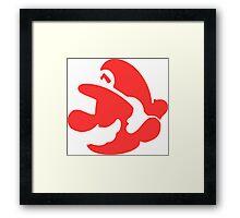 Mario Bros Super Framed Print