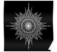 Mandala Star Tattoo Poster