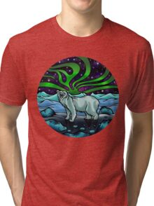 Northern Lights Tri-blend T-Shirt