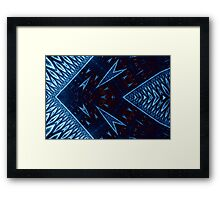 Luminous Arrowheads Framed Print