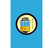 Symbols of Portugal - Lisboa Lisbon Tram #02 Photographic Print