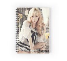 TAEYEON BG Spiral Notebook