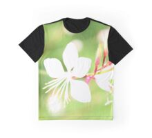 Butterfly Flower Graphic T-Shirt