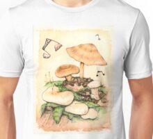 Mushroom Music Unisex T-Shirt