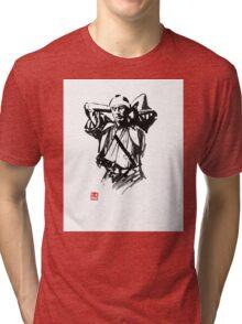 preparing samurai Tri-blend T-Shirt