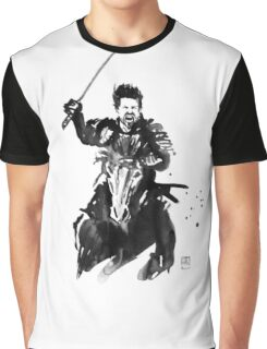 the last samurai riding Graphic T-Shirt
