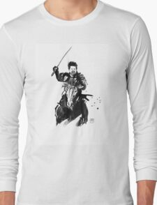 the last samurai riding Long Sleeve T-Shirt