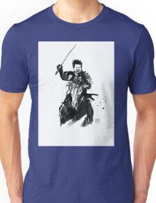 the last samurai riding Unisex T-Shirt