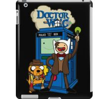 Dr Who Adventure Time iPad Case/Skin