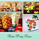 Retro Party Ideas by ©The Creative  Minds