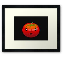 Tomato Face VRS2 Framed Print
