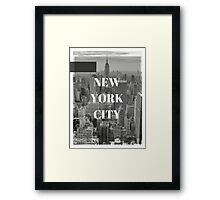 City Series (New York City) Framed Print