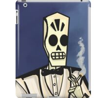 Grim Fandango- Manny Calavera iPad Case/Skin