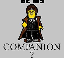 Nerd Valentines: Be my companion! by Adelidaw