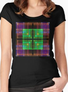 Ethereal Central Processing Unit Women's Fitted Scoop T-Shirt